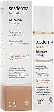 Parfémy, Parfumerie, kosmetika Depigmentační krém-gel na obličej - SesDerma Laboratories Azelac Ru Gel Cream