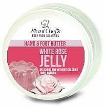 Parfémy, Parfumerie, kosmetika Olej na ruce a nohy - Hristina Stani Chef's Hand And Foot Butter White Rose Jelly