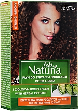 Parfémy, Parfumerie, kosmetika Tekutina na permanentní ondulaci vlasů Silná - Joanna Naturia Loki Liquid