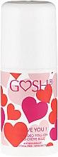 Parfémy, Parfumerie, kosmetika Deodorant roll-on - Gosh I Love You Deo Roll-On