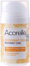 Parfémy, Parfumerie, kosmetika Deodorant - Acorelle Deodorant Care Limone & Moringa