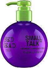 Parfémy, Parfumerie, kosmetika Krém pro objem a zhutnění vlasů - Tigi Bed Head Small Talk 3-in-1 Thickifier