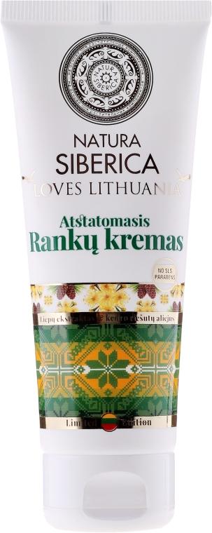 Obnovující krém na ruce - Natura Siberica Loves Lithuania Repair Hand Cream — foto N1