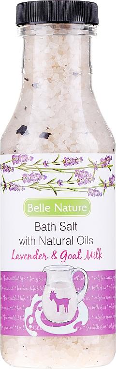 Sůl do koupele Levandule a kozí mléko - Belle Nature Bath Salt