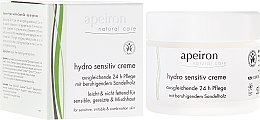 Parfémy, Parfumerie, kosmetika Hydratační krém pro citlivou pleť - Apeiron Hydro Sensitiv Cream 24h