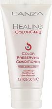 Parfémy, Parfumerie, kosmetika Kondicionér pro ochranu barvy vlasů - L'Anza Healing ColorCare Color-Preserving Conditioner (mini)