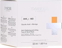 Parfémy, Parfumerie, kosmetika Antioxidační liftingová maska na obličej a krk - Symbiosis London Anti-oxidising And Lifting Face & Neck Mask