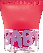 Parfémy, Parfumerie, kosmetika Balzám na rty a tváře - Maybelline Baby Lips Balm Blush Ball