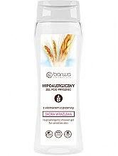 Parfémy, Parfumerie, kosmetika Hypoalergenní sprchový gel s výtažkem z pšenice - Barwa Hypoallergenic Shower Gel Wheat Extract