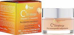 Parfémy, Parfumerie, kosmetika Noční obličejový krém s vitamínem C - Ava Laboratorium C+ Strategy Pro-intensive Nourishment Face Cream