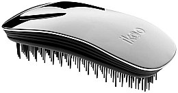 Parfémy, Parfumerie, kosmetika Kartáč na vlasy - Ikoo Home Metallic Oyster Black