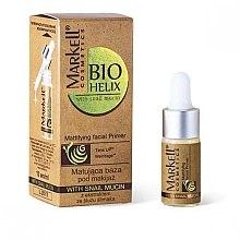 Parfémy, Parfumerie, kosmetika Báze pod make-up s extraktem z hlemýždího mucinu - Markell Cosmetics Base