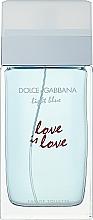 Parfémy, Parfumerie, kosmetika Dolce & Gabbana Light Blue Love is Love Pour Femme - Woda toaletowa