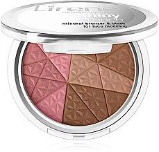 Parfémy, Parfumerie, kosmetika Bronzer na obličej - Lirene Shiny Touch Mineral Bronzer & Blush