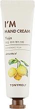 Parfémy, Parfumerie, kosmetika Krém na ruce Citrus yuzu - Tony Moly I'm Hand Cream Yuja