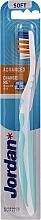 Parfémy, Parfumerie, kosmetika Zubní kartáček Advanced, bez krytu, mátový - Jordan Advanced Soft Toothbrush