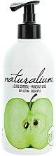 """Parfémy, Parfumerie, kosmetika Výživný tělový lotion """"Zelené jablko"""" - Naturalium Body Lotion Green Apple"""