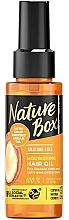 Parfémy, Parfumerie, kosmetika Vyživující vlasový olej - Nature Box Argan Oil Nourishing Hair Oil