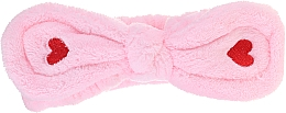 Parfémy, Parfumerie, kosmetika Kosmetická čelenka, růžová - Lash Brow Cosmetic SPA Band