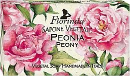 Parfémy, Parfumerie, kosmetika Přírodní mýdlo Pivoňka - Florinda Peony Natural Soap