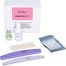 Parfémy, Parfumerie, kosmetika Sada - NeoNail Professional Removal Set (rem/50ml + oil/15ml + n/file/2pc + n/wraps/100pc + sticks/10pc)