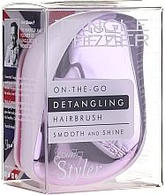 Parfémy, Parfumerie, kosmetika Kartáč na vlasy - Tangle Teezer Compact Styler Lilac Gleam