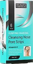 Parfémy, Parfumerie, kosmetika Proužky na čištění pórů nosu - Beauty Formulas Purifying Charcoal Deep Cleansing Nose Pore