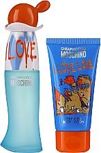 Parfémy, Parfumerie, kosmetika Moschino I Love Love - Sada (edt/30ml + b/lot/50ml)