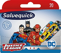 Parfémy, Parfumerie, kosmetika Dětské náplasti - Salvequick Justice League