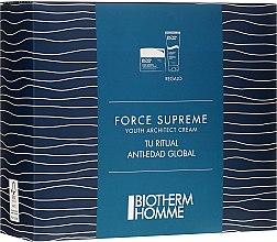 Parfémy, Parfumerie, kosmetika Sada - Biotherm Homme Force Supreme (gel/40ml + cr/50ml)