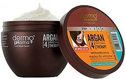Parfémy, Parfumerie, kosmetika Termoaktivní maska na vlasy - Dermo Pharma Argan Professional 4 Therapy Strengthening & Smoothing Mask