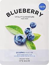 Parfémy, Parfumerie, kosmetika Látková maska - It's Skin The Fresh Blueberry Mask Sheet