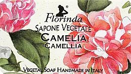 Parfémy, Parfumerie, kosmetika Přírodní mýdlo Kamélie - Florinda Sapone Vegetale Camellia