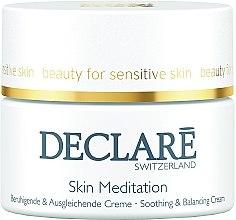 Zklidňující, obnovující krém - Declare Skin Meditation Soothing & Balancing Cream — foto N1