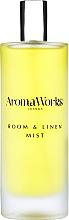 Parfémy, Parfumerie, kosmetika Vonný bytový sprej Bazalka a limetka - AromaWorks Light Range Room Mist