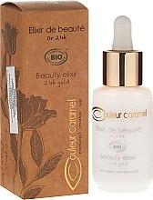 Parfémy, Parfumerie, kosmetika Elixír pro obličej - Couleur Caramel Elixir De Beaute Oro 24K