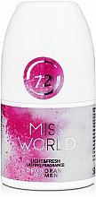 Parfémy, Parfumerie, kosmetika Vittorio Bellucci Miss World - Parfémovaný kuličkový deodorant
