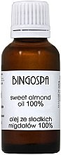 Parfémy, Parfumerie, kosmetika Sladký mandlový olej - BingoSpa