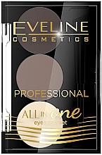 Parfémy, Parfumerie, kosmetika Sada pro make-up a styling obočí - Eveline Cosmetics All In One Eyebrow Styling Set