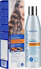 Parfémy, Parfumerie, kosmetika Šampon na vlasy - Kativa Color Therapy Anti-Orange Effect Shampoo