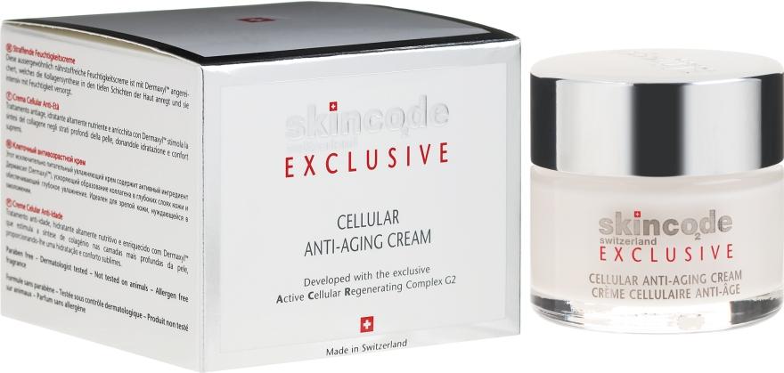 Buněčný krém proti stárnutí - Skincode Exclusive Cellular Anti-Aging Cream
