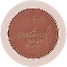 Parfémy, Parfumerie, kosmetika Kompaktní tvářenka na obličej - Lovely Natural Beauty Blusher