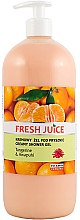 Parfémy, Parfumerie, kosmetika Krémový súrchový gel Mandarinka a zázvor - Fresh Juice Hawaiian Paradise Tangerine & Awapuhi