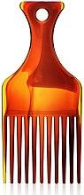 "Parfémy, Parfumerie, kosmetika Hřeben na vlasy ""Afro"" S, 60274, jantarový - Top Choice"