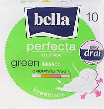 Parfémy, Parfumerie, kosmetika Vložky Perfecta Green Drai Ultra, 10 ks - Bella