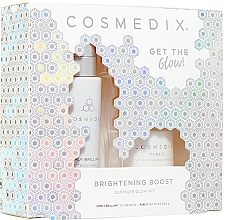 Parfémy, Parfumerie, kosmetika Sada - Cosmedix Brightening Boost Ultimate Glow Kit (f/ser/30ml + f/powder/6g)
