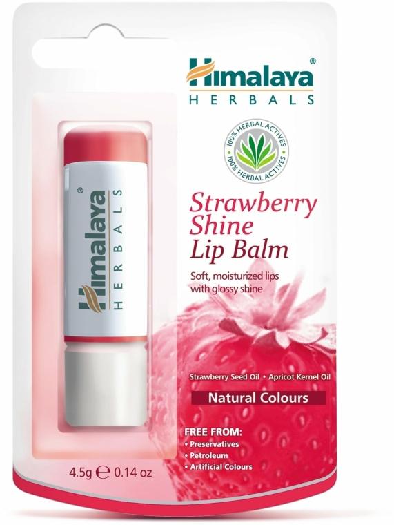 "Balzám na rty ""Jahodový lesk"" - Himalaya Herbals Strawberry Shine Lip Balm"