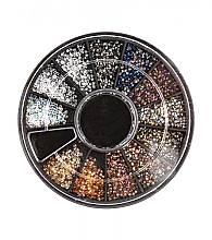Parfémy, Parfumerie, kosmetika Kolotoč kamínky na nehty - Peggy Sage Micro Diamond