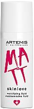 Parfémy, Parfumerie, kosmetika Matující fluid - Artemis of Switzerland Skinlove Mattifying Fluid