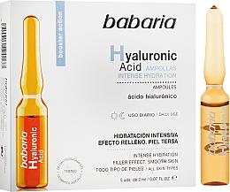 Parfémy, Parfumerie, kosmetika Ampule s kyselinou hyaluronovou - Babaria Hyaluronic Acid Ampoule